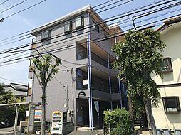 東京都八王子市越野の賃貸マンションの外観