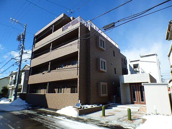 長野県上田市天神 4丁目の賃貸マンションの外観
