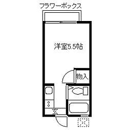 田中アパート[103号室]の間取り