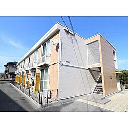 奈良県生駒郡斑鳩町法隆寺西の賃貸アパートの外観