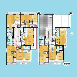 札幌市営南北線 さっぽろ駅 徒歩6分の賃貸マンション 2階1DKの間取り