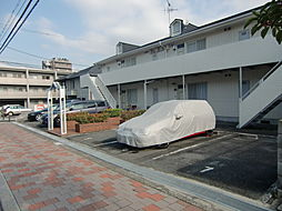 大阪府茨木市西中条町の賃貸アパートの外観
