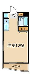 大栄志木パレス[2階]の間取り