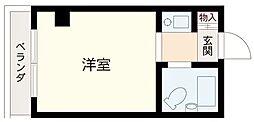 東京都足立区千住元町の賃貸マンションの間取り