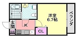 Oriental court[2階]の間取り