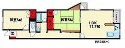 コーポラティブハウス[1階]の間取り