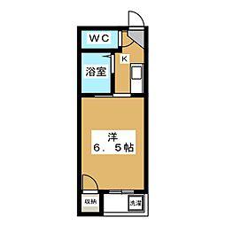 サンシャイン西院[2階]の間取り