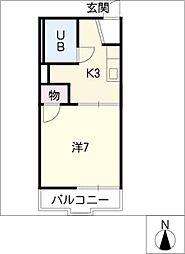 グリーンミチ[2階]の間取り