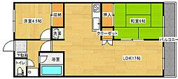 コーナン徳常ビル[131号室]の間取り