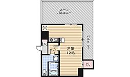 ルクレール鶴ケ丘[10階]の間取り