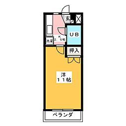 ノーブルハイムN[2階]の間取り