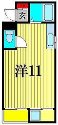 メゾンヒラカタ[2階]の間取り