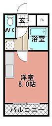 タプローコート[202号室]の間取り