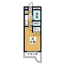 ウィンディヒルズイン松木[4階]の間取り
