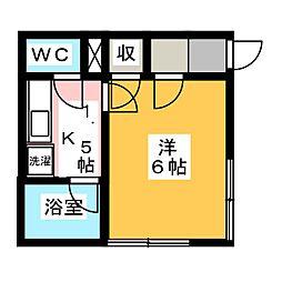 壱番館[1階]の間取り