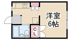 雲雀丘花屋敷駅 3.1万円