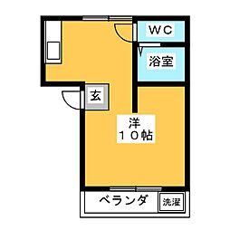 FLAT K[2階]の間取り