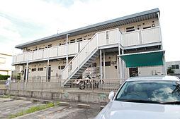 愛知県名古屋市天白区元八事5丁目の賃貸アパートの外観