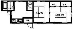 新川貸室[1階]の間取り