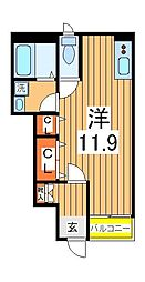 パルクレシア[1階]の間取り
