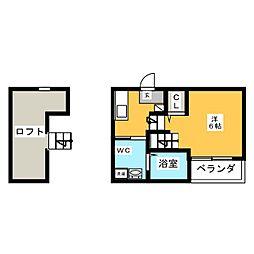 Moai(モアイ)[2階]の間取り