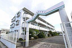 愛知県長久手市喜婦嶽の賃貸マンションの外観