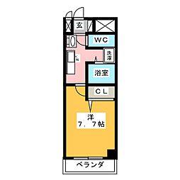 will Do 勝川[9階]の間取り