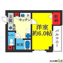 アビコ88マンション[3階]の間取り