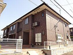 愛知県豊田市井上町4丁目の賃貸アパートの外観