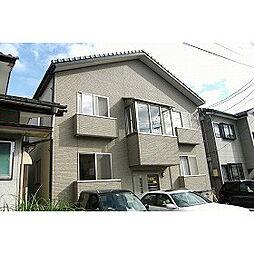 新潟県新潟市東区中山7丁目の賃貸アパートの外観