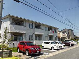 愛知県名古屋市守山区川北町の賃貸アパートの外観
