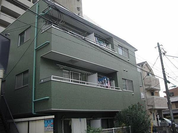 東京都調布市仙川町2丁目の賃貸マンションの外観