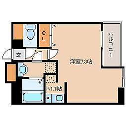 兵庫県尼崎市神田北通1丁目の賃貸マンションの間取り
