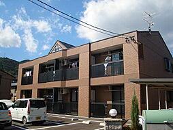 広島県広島市安佐南区長束西1丁目の賃貸アパートの外観