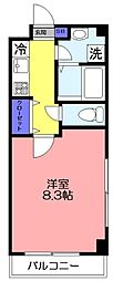 ソレイユ津田沼[305号室]の間取り