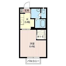エテルノ・コートII[2階]の間取り