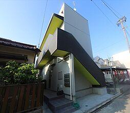 愛知県名古屋市南区三吉町3丁目の賃貸アパートの外観