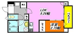 ル・プラト— 103号室[1階]の間取り