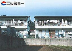 栗木山ハイツ1・2棟[1階]の外観
