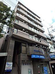 大阪府大阪市東住吉区針中野3の賃貸マンションの外観