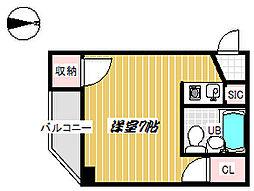 第8長栄ヴィライースト[103号室]の間取り