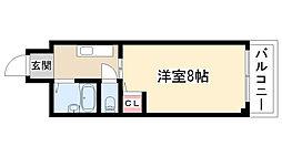 愛知県日進市香久山4丁目の賃貸マンションの間取り