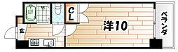 第11エルザビル[14階]の間取り
