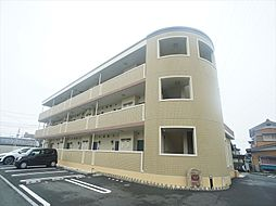 静岡県浜松市中区葵西3丁目の賃貸マンションの外観