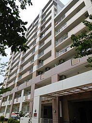 大阪府大阪市東住吉区湯里3丁目の賃貸マンションの外観