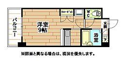福岡県北九州市門司区高田1丁目の賃貸マンションの間取り
