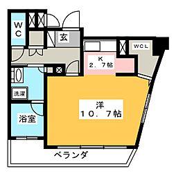 グラン・アベニュー鶴舞[4階]の間取り