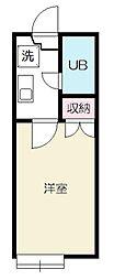 コージーハウス228C[2階]の間取り