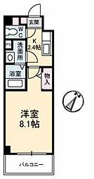 JRBハイツ湯田[A306号室]の間取り
