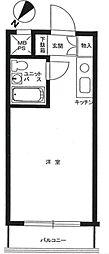ライオンズマンション西新宿第7 ニシシンジュクダイナナ[1002号室]の間取り
